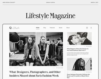 Q.Studio - Online Magazine