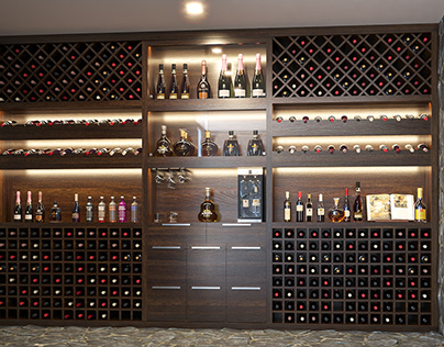 Wine Cellar - After / Before