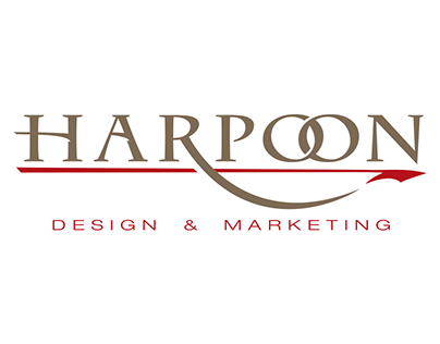 Harpoon Design & Marketing Logo