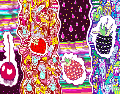 ART - FRUITS - AND BERRIES