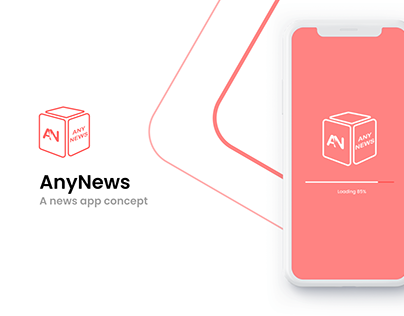 AnyNews - News app concept