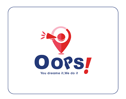 Oops Egypt Logo and Branding