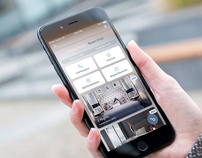 conichi hotell app concept