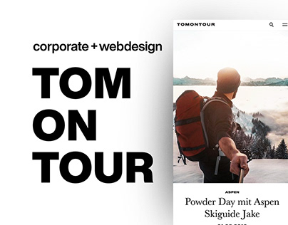 Corporate + Webdesign | TOMONTOUR