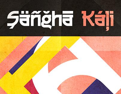 Sangha Kali typeface (free)