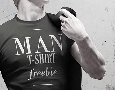 David T-shirt mock up