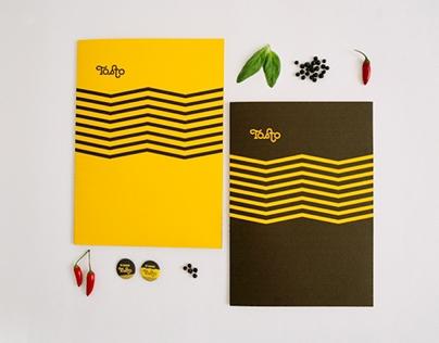 Restaurant Menu Design Tosto