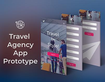 Travel Agency App