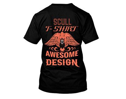 scull t-shirt design
