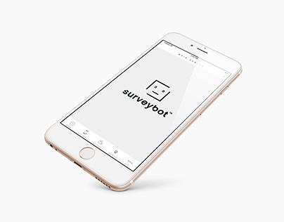 SurveyBot - Branding   App Design   Web Design