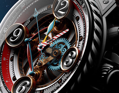 3D • The Majestic Watch • Personal Project