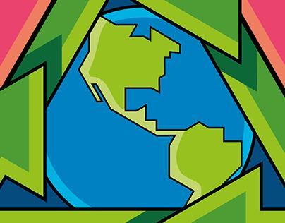 Reduce, Reutiliza, Recicla.