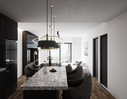 Interior Apartament Unreal Engine 4