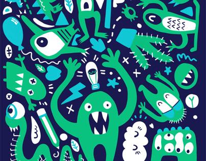 Monster Pattern