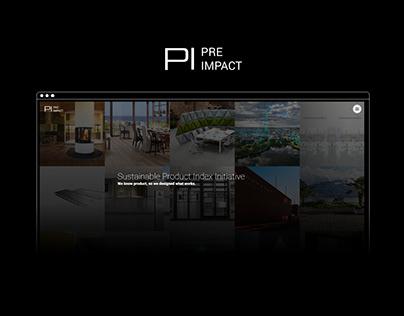 Pre Impact: Web & Brand