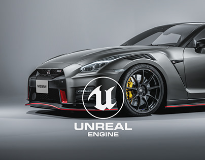 Nissan GTR - Unreal Engine 4 RTX ON 32K px