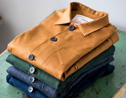 Jaquetas e camisas Worker Dion Ochner 2017