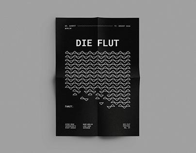 Die Flut – Festival Corporate Design