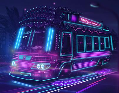 Pakistan 2050(Neon)