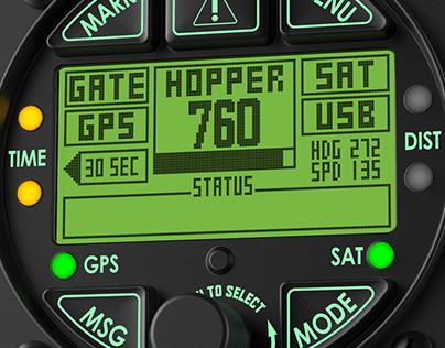 Instrument Panel Pilot Interface