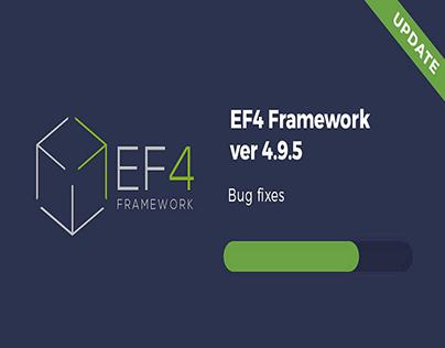 Update - EF4 Framework 4.9.5