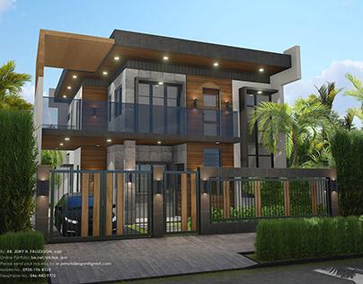 Minimalist Two-Storey Residence