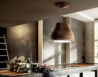 Industrial Kitchen - Artist Interior