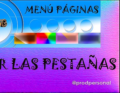 Custom Tabs Menu_Prodpersonal Blog