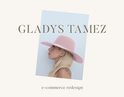 Gladys Tamez - e-commerce redesign