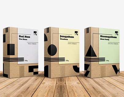Design of Chinese tea packaging