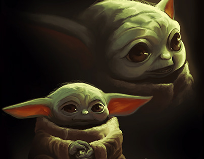 Baby Yoda's Picture Day