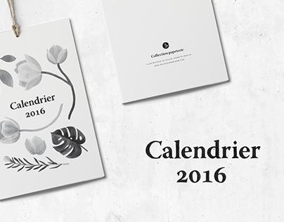 Calendrier 2016 | Trois fois par jour