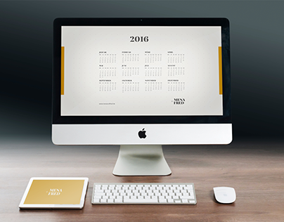 Calendar 2016 Wallpaper [Free Download]