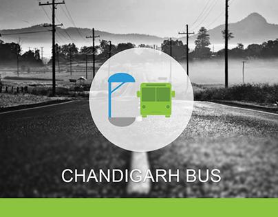 Chandigarh Bus Logo & new UI