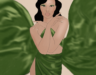Illustration of a photo of Isabella by Amaury Nessaibia