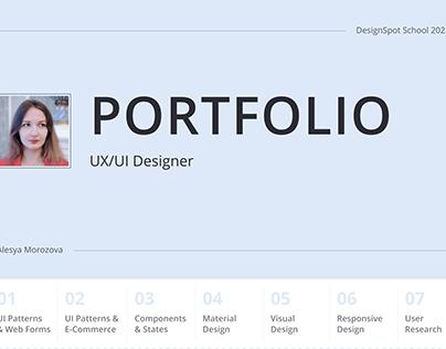 Portfolio UX/UI Designer