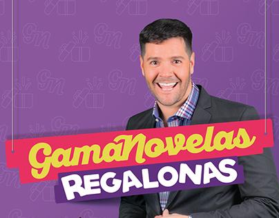 Gamanovelas Regalonas-Línea Gráfica