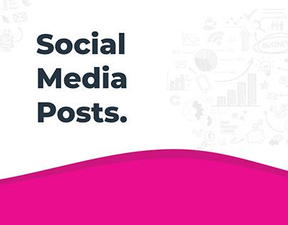 Social Media Posts.