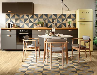 [KHATRA] Kitchen Decor Idea