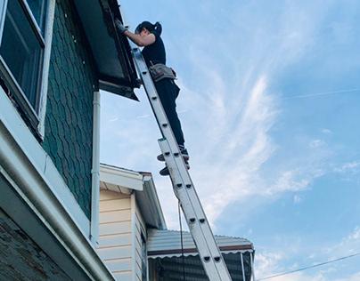 Repair a blight house in Detroit neighborhood