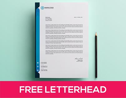 Letterhead Bundle Free Download (4 Letterhead)