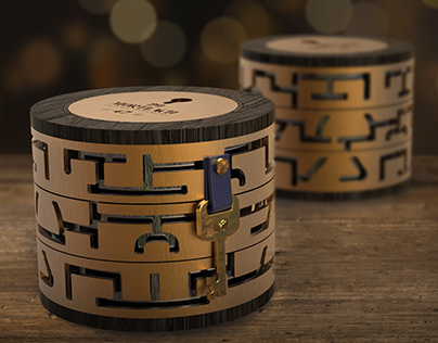 Mortlach 2.81 whisky - Interactively Decryption Box