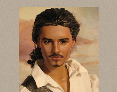 Will Turner, custom vinyl fashion doll