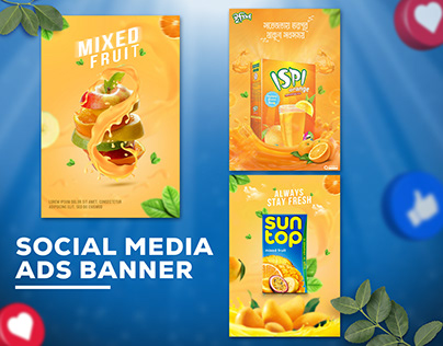 Social Media Products Ads Design
