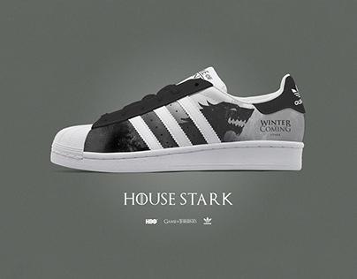 Game of Thrones Custom Adidas Superstar kicks