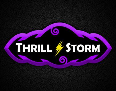 ThrillStorm.com Logo - Comics Games Fun Teens / Adults
