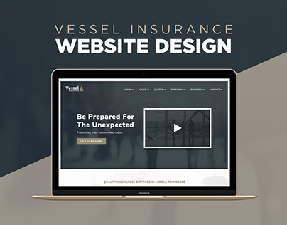 Website Design - Vessel Insurance Template