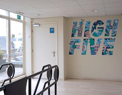Mural High Five for Atlassian