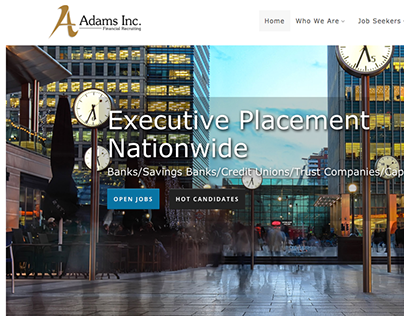 Adams, Inc - Design, Data Migration & Integration