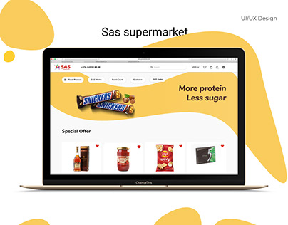 Redesign Sas supermarket